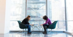 two women planning their business recovery